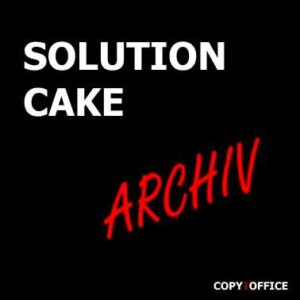 SOLUTION CAKE